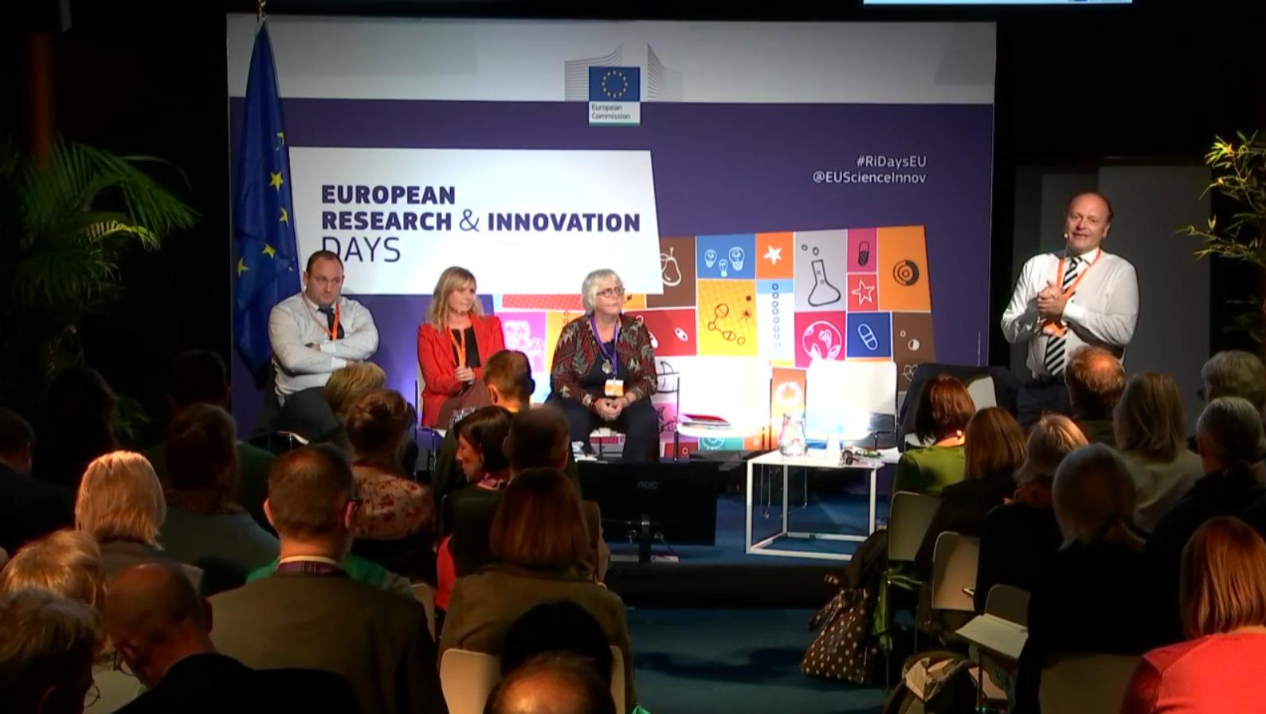 Jane Ohlmeyer Presents At EU R&I Days Session On Integrating Social Sciences And Humanities