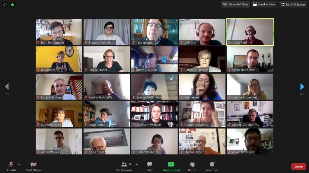 SHAPE-ID Zurich online workshop