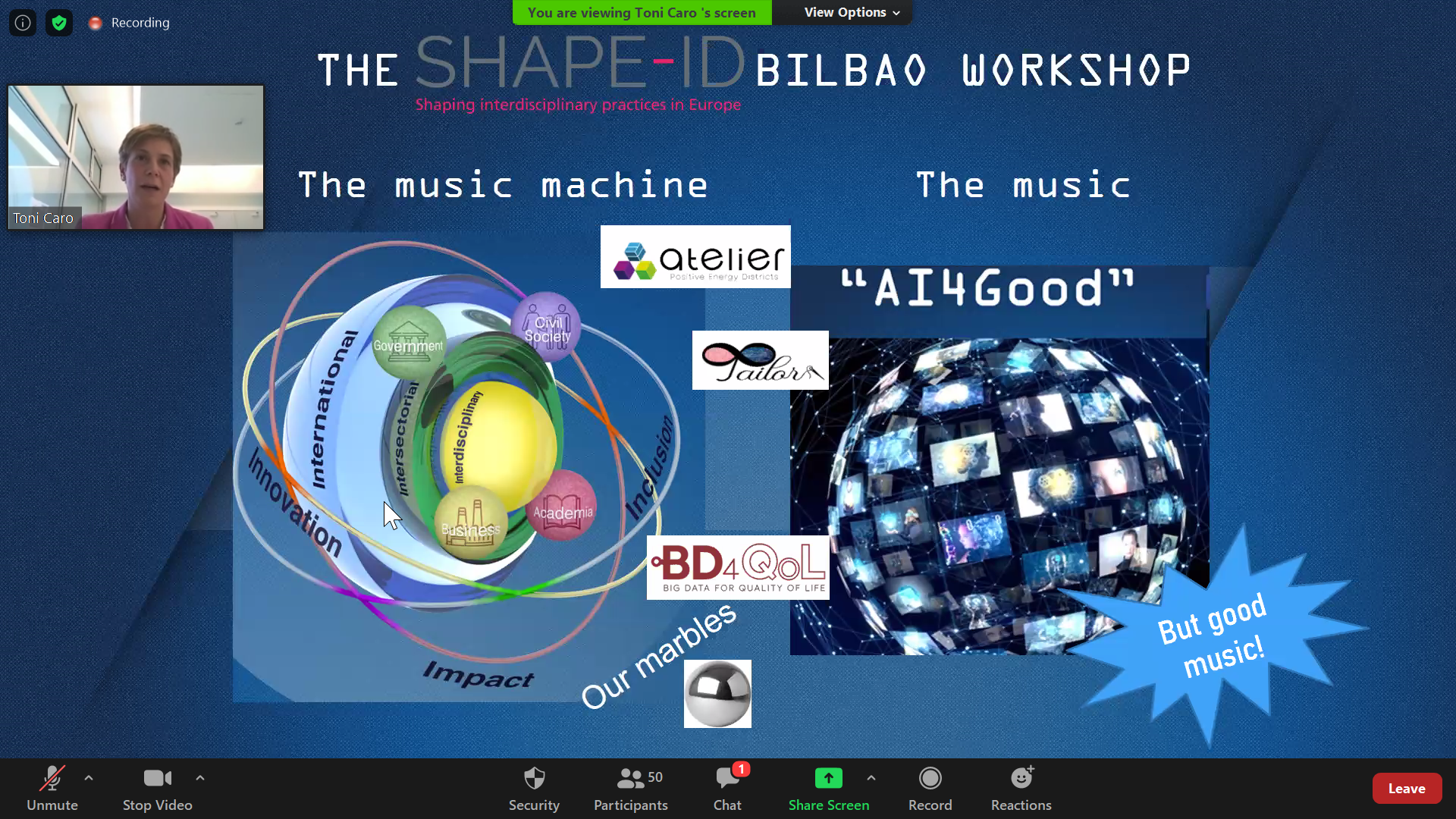 SHAPE-ID And University Of Deusto Host Workshop On Artificial Intelligence For Social Good