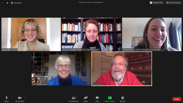 SHAPE-ID Webinar On Interdisciplinarity And The Neurohumanities
