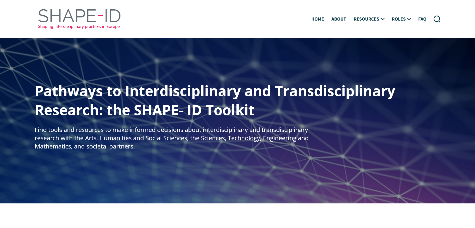 SHAPE-ID Toolkit Launched